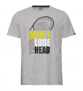 t-shirt head 811350 RETURN grey