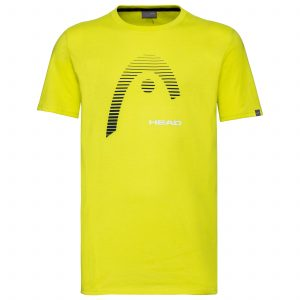t-shirt head 811489 CLUB CARL yellow