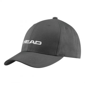 czapka z daszkiem head Promotion Cap Anthracite grey