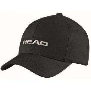 czapka z daszkiem head Promotion Cap black