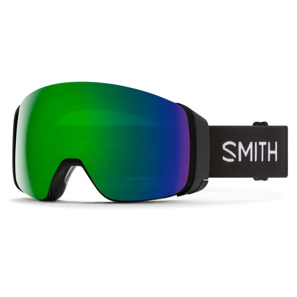 gogle smith 4d mag black chromapop sun green mirror 2021