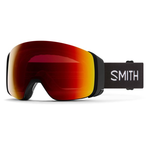 gogle smith 4d mag black chromapop sun red mirror 2021