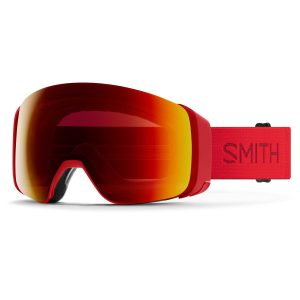 gogle smith 4d mag lava chromapop sun red mirror 2021