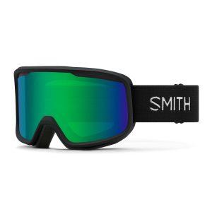 gogle smith frontier black green sol x mirror 2022
