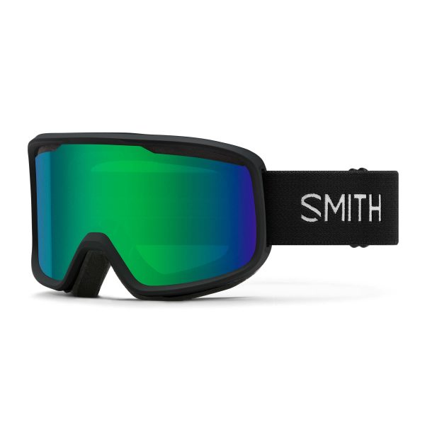 gogle smith frontier black green sol x mirror 2021