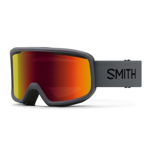 gogle smith frontier charcoal red sol x mirror 2021