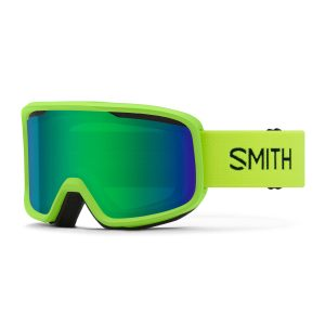 gogle smith frontier limelight green sol x mirror 2021