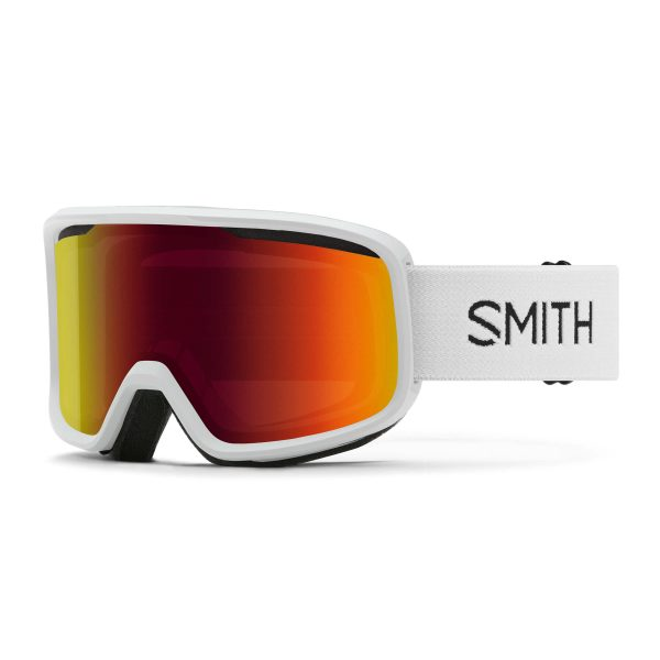 gogle smith frontier white red sol x mirror 2021 M0042933299C1