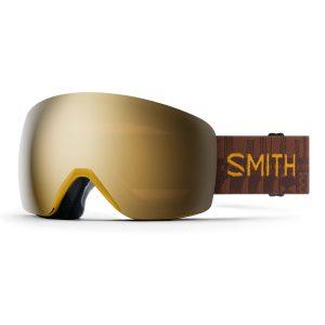 gogle smith skyline amber textile chromapop sun black gold mirror M006812Q699MN