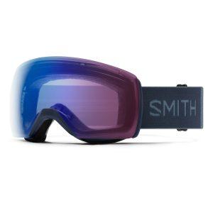 gogle smith skyline xl french navy chromapop photochromic rose flash M007152R7994G