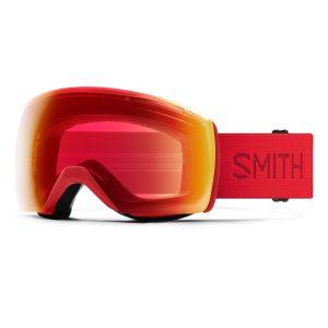 gogle smith skyline xl lava chromapop photochromic red mirror M007152RN99OQ