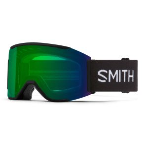 gogle smith squad mag black chromapop everyday green mirror M004312QJ99XP