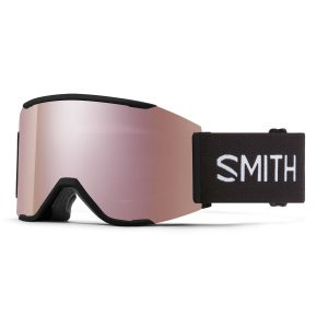 gogle smith squad mag black chromapop everyday rose gold mirror M004312QJ99M5