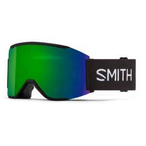 gogle smith squad mag black chromapop sun green mirror M004312QJ99MK