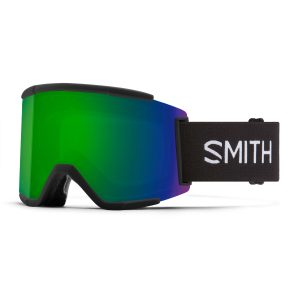 gogle smith squad xl black chromapop sun green mirror M006752QJ99MK