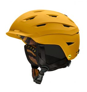 kask smith level mips matte amber textile 2021