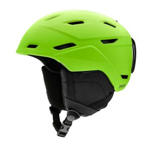 kask smith mission matte limelight 2021