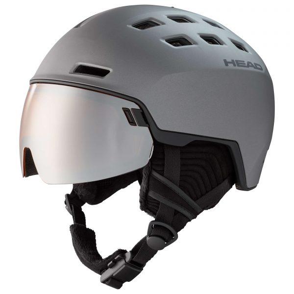 kask head radar graphite/black 2021