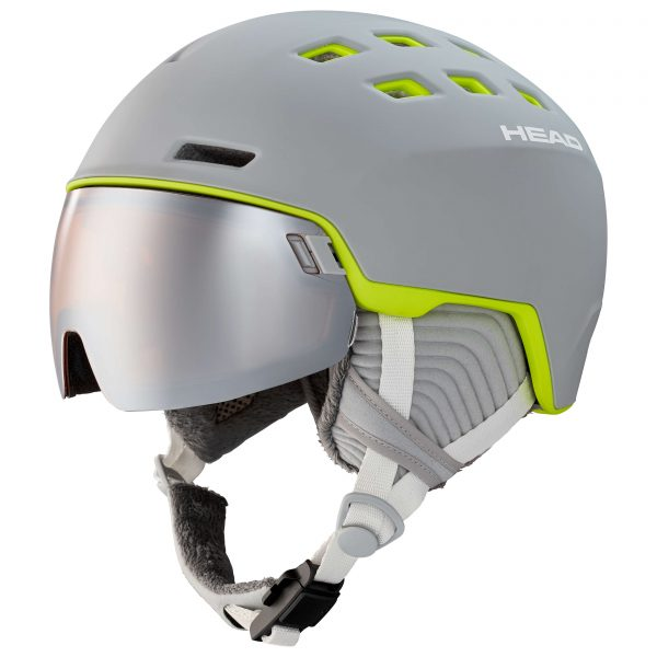 kask Head Rachel grey/lime 2021