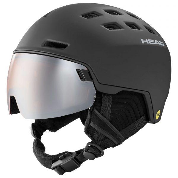 kask head radar mips black 2021