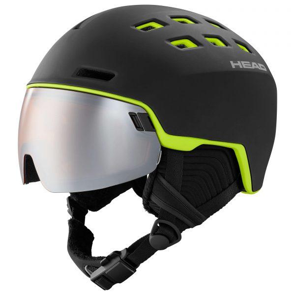 kask Head Radar black/lime 2021