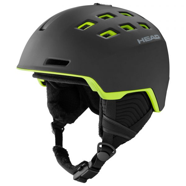 kask head rev black/lime 2021