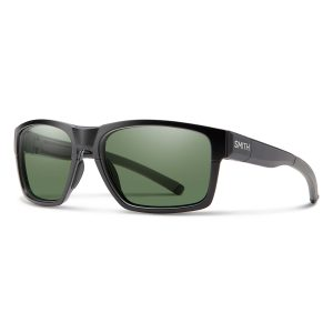 okulary smith caravan mag matte black charcoal chromapop polarized gray green