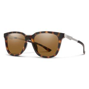 okulary smith roam matte tort chromapop polarized brown