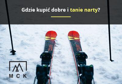 tanie narty