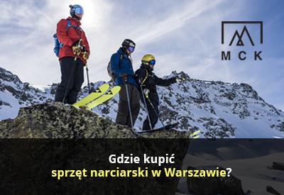 Gdzie kupić sprzęt narciarski Warszawa