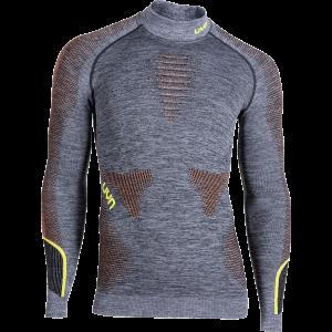 koszulka termoaktywna UYN AMBITYON MAN UNDERWEAR SHIRT LONG SLEEVES MELANGE TURTLENECK U100053
