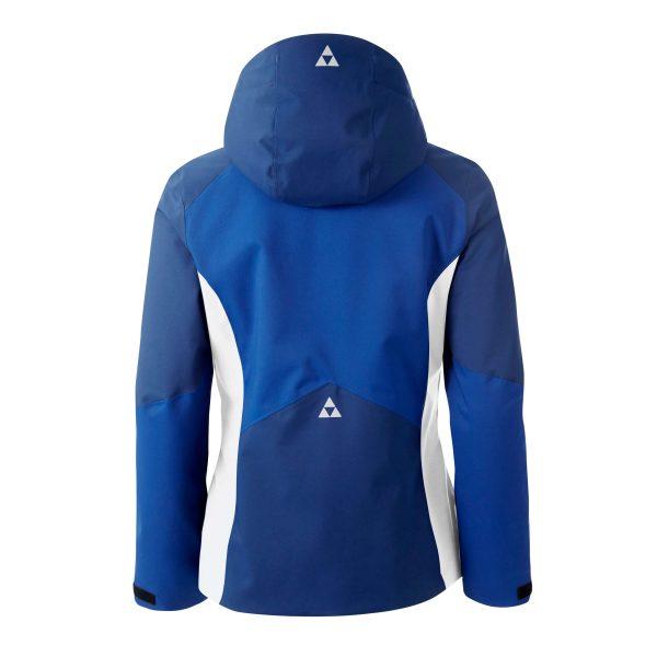 damska kurtka narciarska fischer goldried web blue