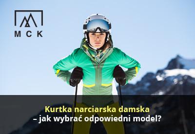 Kurtka narciarska damska
