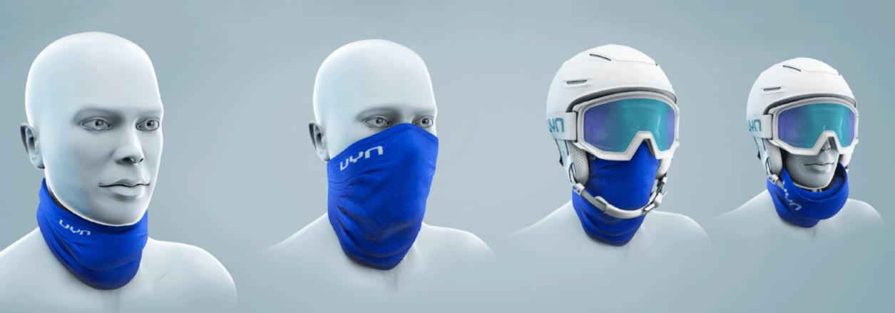 wielofunkcyjna zimowa maska sportowa UYN