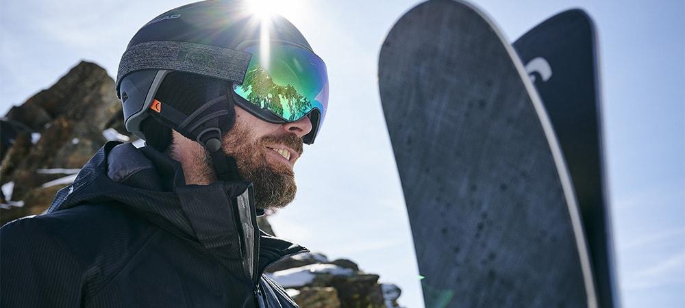 Kaski narciarskie męskie