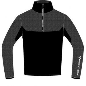 fischer skishirt adelboden black grey 2019 g50118
