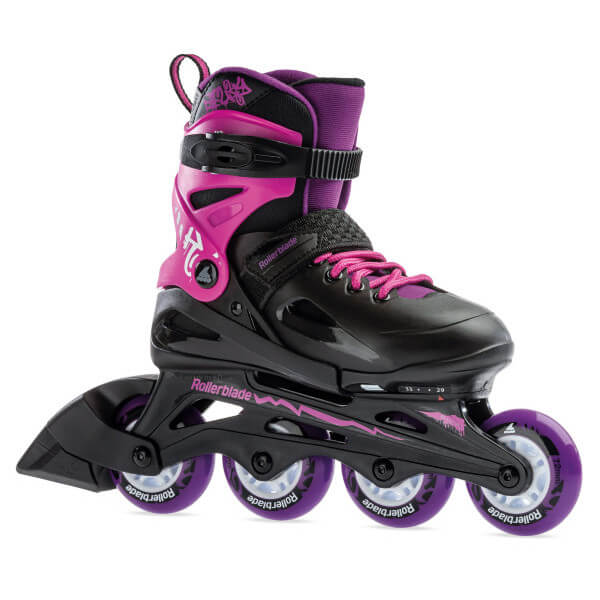 rolki rollerblade fury g black pink