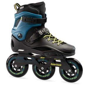 rolki rollerblade rb 110 3wd black petrol blue