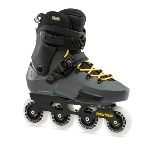rolki rollerblade twister edge anthracite yellow