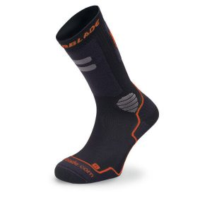 skarpetki rollerblade high performance socks black red