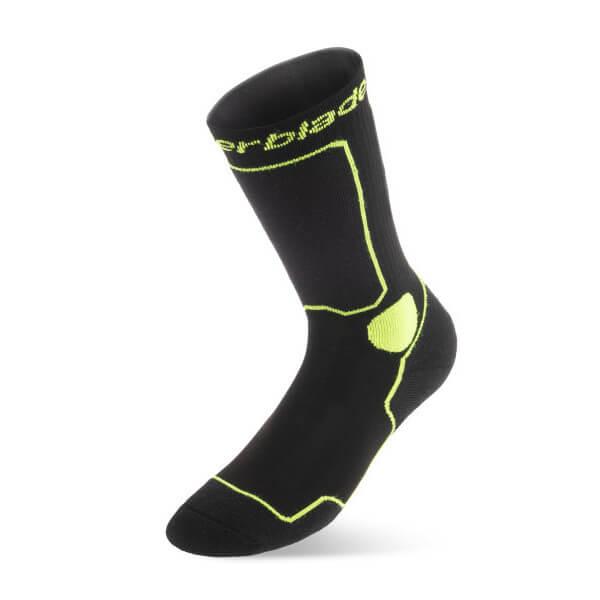 skarpetki rollerblade skate socks black green