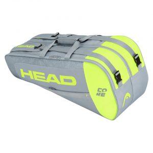 Torba HEAD Core 6R Combi Grey/Neon Yellow