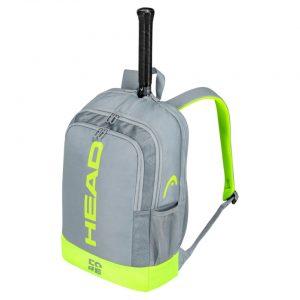 Plecak HEAD Core Backpack Grey/Neon Yellow 2021