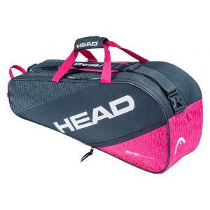 Torba Head Elite 6R Combi Anthracite/Pink