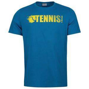 T-shirt Head Font T-shirt m blue