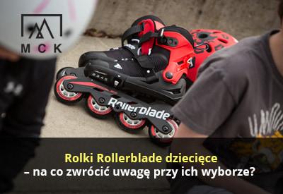 Rolki Rollerblade dziecięce