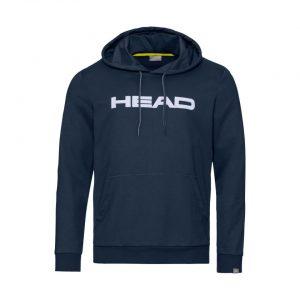 bluza head club byron hoodie m darkblue white