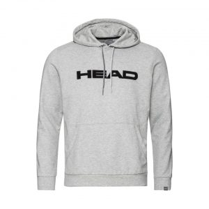 bluza head club byron hoodie m grey melange black