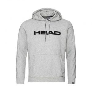 bluza head club byron hoodie m grey melange black