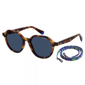 Okulary Polaroid PLD 6111/S havana blue